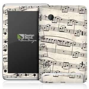 Design Skins for HTC Flyer   Klaviernoten Design Folie