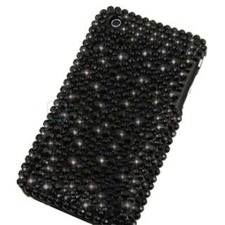Diamond Bling Snap on Hard Case Cover for iphone 3 G 3Gs 3nd