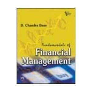 of Financial Management (9788120329843): D.Chandra Bose: Books
