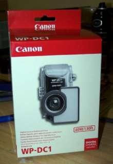 Canon WP DC1 Underwater WaterProof Case PowerShot S80