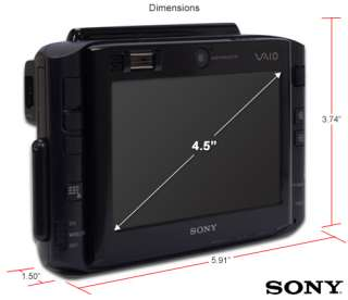 SONY VAIO VGN UX490N 48GB SSD, External DVD Drive, Two Batteries UX490
