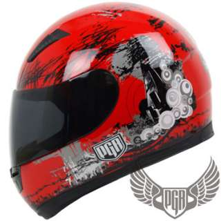 Matte Flat Black Motorcycle Bike Full Face Helmet DOT M
