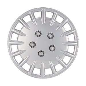Drive Accessories KT906 14SL PC 14 Inch Plastic Wheel Cover, Silver