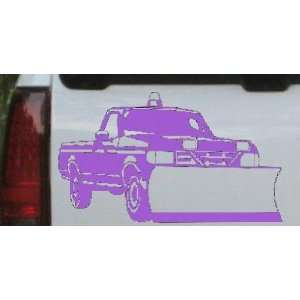 Snow Plow Truck Business Car Window Wall Laptop Decal