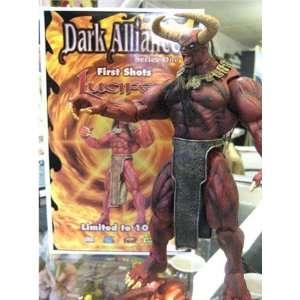 : Lucifer 10 Action Figure   Dark Alliance Series One: Toys & Games