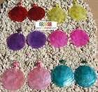 100 Sliced TAWA TAGUA BEADS 12 colors  Peru seeds items in Peru