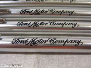 Lot of 5 FORD Motor Company TIRE GAUGES 50PSI NEW Metal