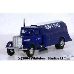 Replica AHL Brand Navy Gas Peterbilt 260 Truck: Toys & Games
