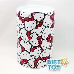 Sanrio Hello Kitty Face Piggy Bank (Coin Bank) Everything