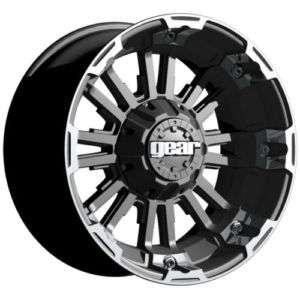 Gear Alloy 719 Timberland Carbon Black Machine 18x9