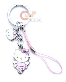 Sanrio Hello Kitty Key Chain Cell Phone Holder Face