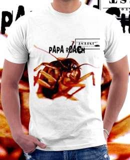 Papa Roach Infest Rock Band White T shirt S   XL