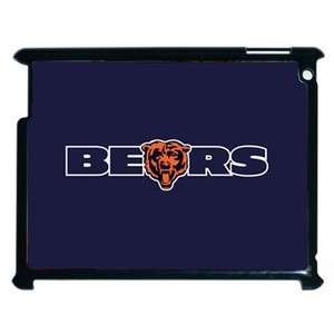 NFL Chicago Bears iPad 2 Hard Fitted Case Cover Shell (Black or White