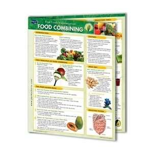 Food Combining: 4 Page Bi Fold Laminated Reference Cards