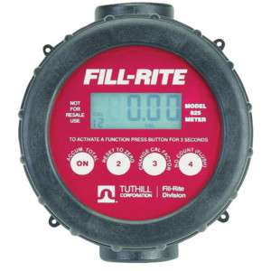 Fill Rite 2 20 GPM   1 Digital Flow Meter (820)