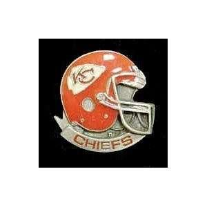 NFL Team Helmet Pin   Kansas City Chiefs: Kitchen & Dining