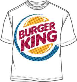 Burger King Tone Mens Shirt BR005MS