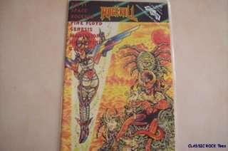 SCI FI SPACE ROCKERS PINK FLOYD COMIC BOOK OOP 90s