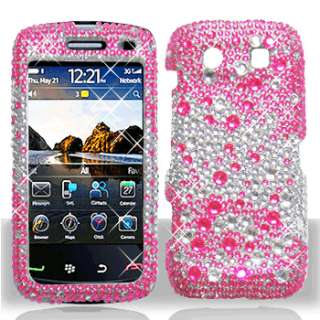 Crystal BLING Hard Case Phone Cover for BlackBerry Torch 9850 9860