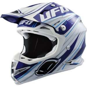 UFO WARRIOR H1 GRAPHIC MX DIRT MOTOCROSS HELMET BLUE XL