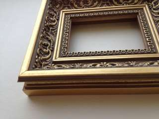 Royal Ornate Antique Gold ACEO Picture Frame. Best quality and price