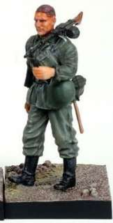 WW II German Soldier Action Figure, Wehrmacht Infantry, Barbarossa