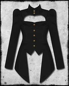 SPIN DOCTOR AMADEUS BLACK COPPER STEAMPUNK VICTORIAN GOTH LADIES