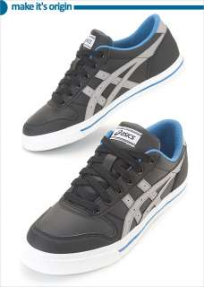 Brand New ASICS AARON Black/Light Grey Shoes H934Y 9013 #5A