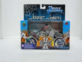 Muscle Machines 1/18 West Coast Choppers Diecast Bike