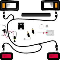 Ultimate Light Kit Club Car w/Brake Lights & T/Signals
