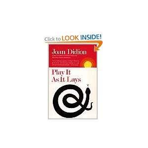 Play I As I Lays (9780374234447) Joan Didion Books