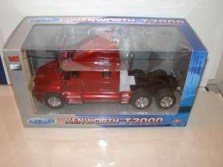Kenworth T2000 Tractor Trailer Head Die Cast Model Semi diecast cars