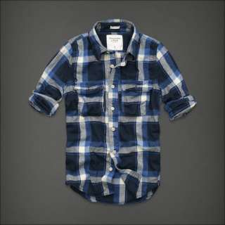 Abercrombie & Fitch Dickerson Notch Plaid Shirts