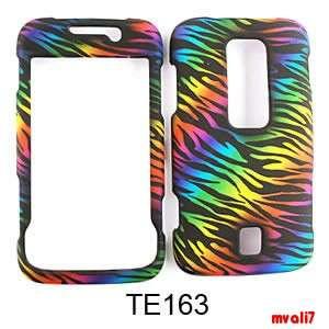 Wild Rainbow Zebra Huawei Ascend M860 Hard Case Cover