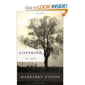 Last Poems of Margaret Avison (9780771008863) Margaret Avison Books