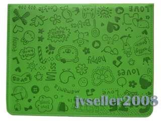 Graffiti HAPPY Faerie CASE COVER STAND FOR IPAD 2 076783016996