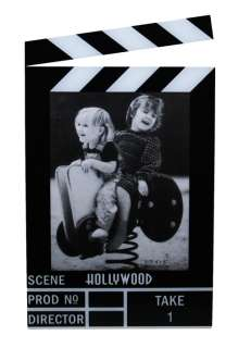 Hollywood Acrylic Clapboard Vertical Picture Frame   4x6   5423