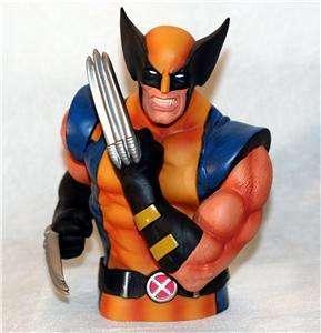 WOLVERINE Logan X MEN Marvel Superhero BUST COIN BANK