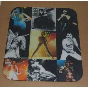 QUEEN Freddie Mercury COMPUTER MOUSE PAD