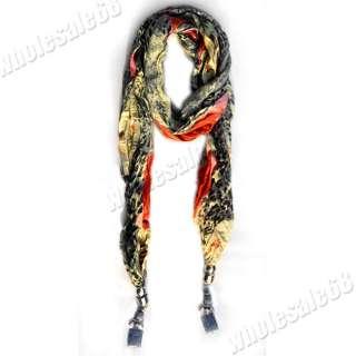 jewelry wholesale lot leopard prints pashmina long Scarf Shawl Wrap