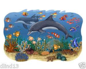 Under the Sea Peel & Stick Wall Mural