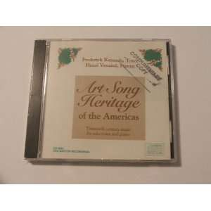 Art Song Heritage of the Americas  20th Century Music for Solo Voice