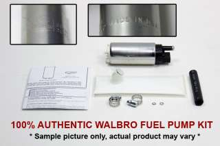 REAL 100% Authentic Walbro 255 Intank Internal Fuel Pump 180sx