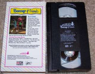 and Friends Time Life Video VHS #5 Be A Friend Tested Works Great