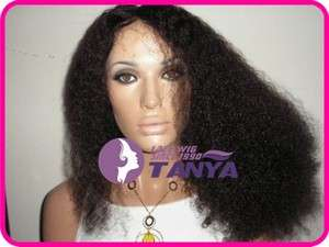 Lace Wig _ Afro Kinky Curl 100% HUMAN HAIR Indian Remy WIG !!