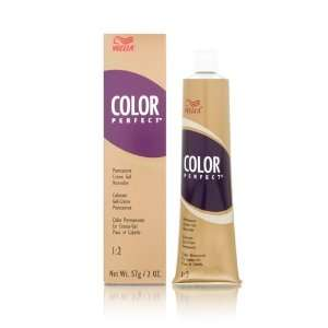 Wella Color Perfect Permanent Creme Gel 1:2 Hair Coloring
