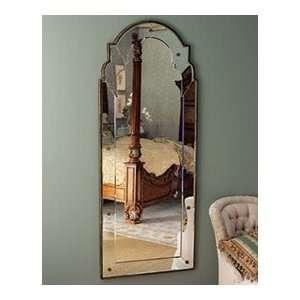 Large FULL LENGTH Frameless Arch Venetian Wall Mirror