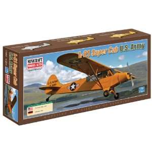 Minicraft Models Piper Super Cub US Army 1/48 Scale: Toys