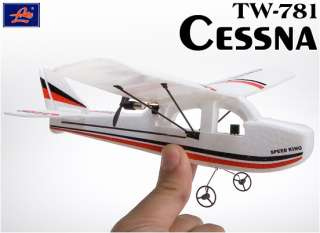 Mini Cessna 200mm Electric RC Airplane Plane 100% Ready To Fly