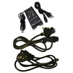 Laptop/Notebook AC Adapter/Battery Charger with 3 Power Cords